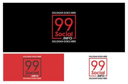 skrummanrahman tarafından Design a Logo for 99Social için no 17