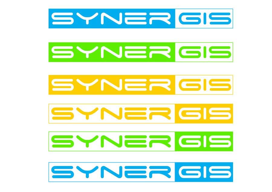 ผลงานการประกวด #                                        73                                      สำหรับ                                         Design a logo for SynerGIS
