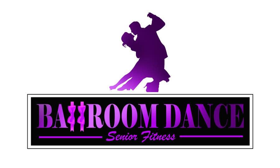 Participación en el concurso Nro.                                        1                                      para                                         Ballroom Dance for Senior Fitness Logo