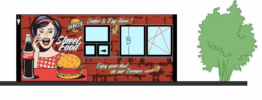 I need some Graphic Design idea for fast food kiosk | Freelancer