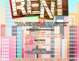 #4 สำหรับ Design 2 Posters for musical RENT โดย DigzGfx