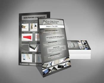 Dreamfocus tarafından Design a Flyer For Stainless Steel Chrome Auto Accessories için no 5
