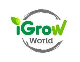 "primavaradin07 tarafından Make Logo Variation for ""iGrow World"" için no 74"