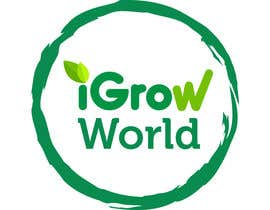 "primavaradin07 tarafından Make Logo Variation for ""iGrow World"" için no 80"