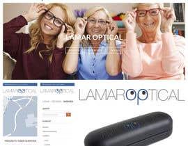 Nro 21 kilpailuun Diseñar un logotipo para sitio web de gafas käyttäjältä ArqAlejandro