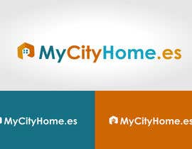 #45 สำหรับ Logo for MyCityHome.es a fully managed host service in Airbnb for house owners โดย mwarriors89