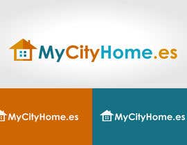 #50 สำหรับ Logo for MyCityHome.es a fully managed host service in Airbnb for house owners โดย mwarriors89