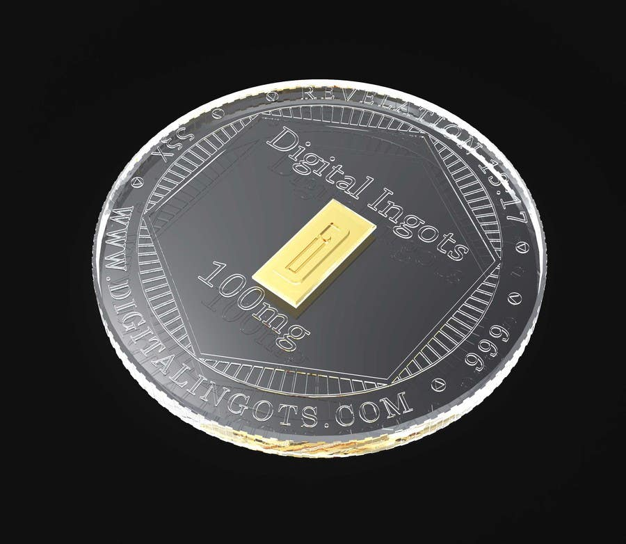 Participación en el concurso Nro.                                        1                                      para                                         Acrylic coin design for encased gold ingot- Please read description -- 2