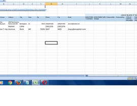 #6 para Copying approximately 300 company names and addresses (plus limited additional information) into an excel spreadsheet.  See attached Excel template and the link in the description. por HasiRaniSen