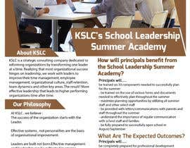 #6 for Summer Leadership Institute Brochure by biplob36