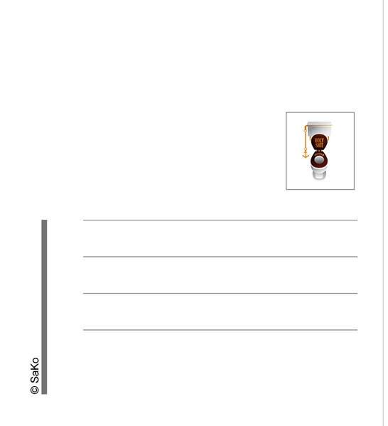 Kilpailutyö #16 kilpailussa just letters on the postcard back