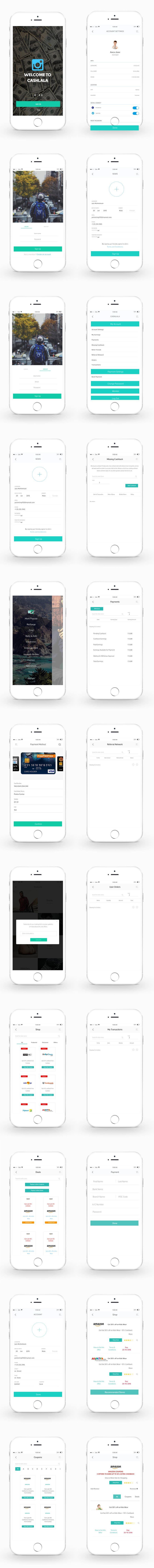 Participación en el concurso Nro.                                        4                                      para                                         Design an App Mockup For Android App