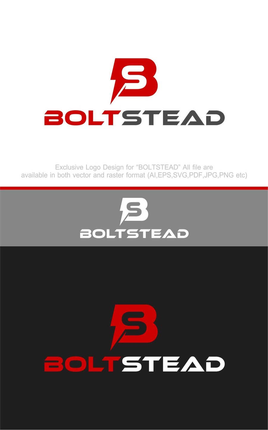 Contest Entry #                                        41                                      for                                         Boltstead Logo Design