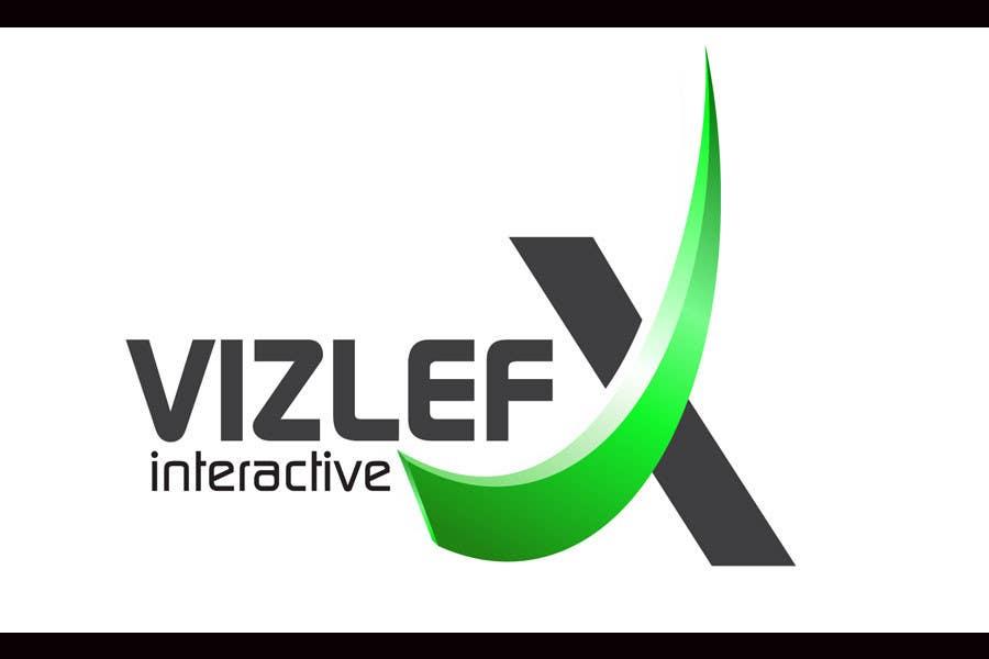 Kilpailutyö #127 kilpailussa Logo Design for VIZLEFX Interactive
