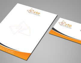#22 para Letterhead and envelopes por shyRosely