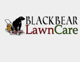 nº 8 pour Design a Logo for Blackbear Lawncare par AruelT