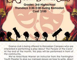 #13 for Design a Flyer for a Drama Club by justinebenez