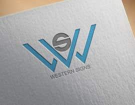 #69 สำหรับ Design a logo for a sign company โดย Elias0