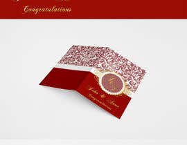 nº 13 pour Design some Stationery for a Wedding Greeting Card - repost par rogeriolmarcos