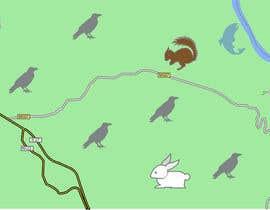 #2 para re-desenhar pequeno mapa em estilo Handraw animado por vladamm