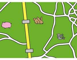 #5 para re-desenhar pequeno mapa em estilo Handraw animado por sfonseca