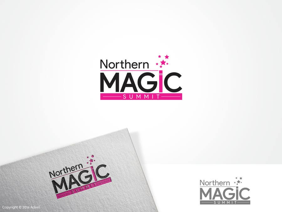 Contest Entry #                                        50                                      for                                         Design a Logo for our modern Magic Convention