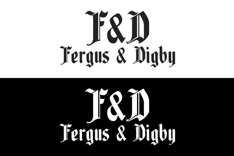 Bài tham dự cuộc thi #43 cho Design a Logo for Fergus & Digby
