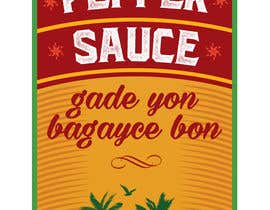 #3 for Design a Pepper Sauce Label by SergeyG0