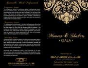 Graphic Design Inscrição do Concurso Nº10 para Gala Sponsorship
