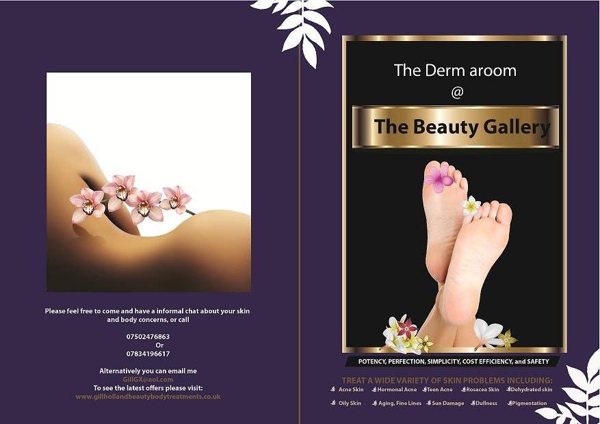 Bài tham dự cuộc thi #9 cho Design a Flyer for a Beauty Gallery