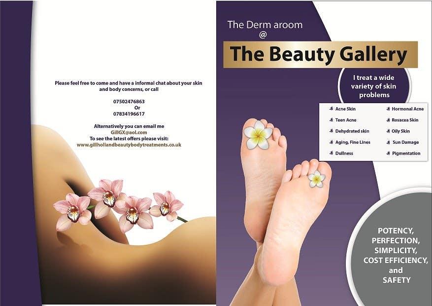Bài tham dự cuộc thi #12 cho Design a Flyer for a Beauty Gallery