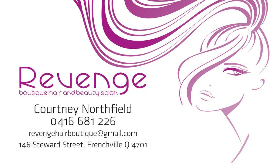 #30 for Design some Business Cards for Revenge by vanillasky