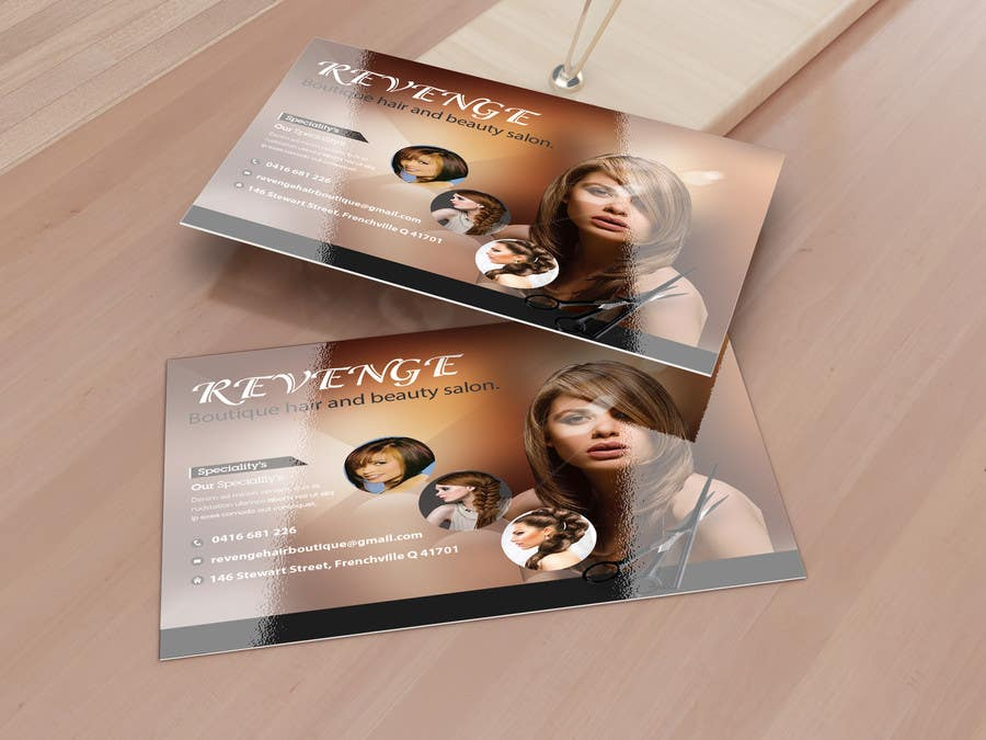 #45 for Design some Business Cards for Revenge by creativezd
