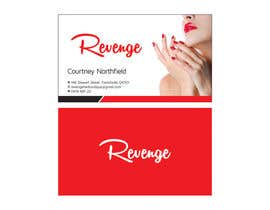ajdezignz tarafından Design some Business Cards for Revenge için no 5