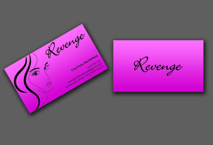 Inscrição nº 43 do Concurso para Design some Business Cards for Revenge