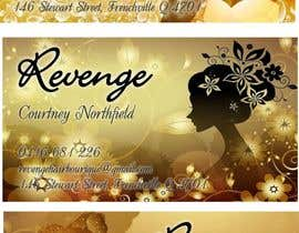 nº 7 pour Design some Business Cards for Revenge par adilnd