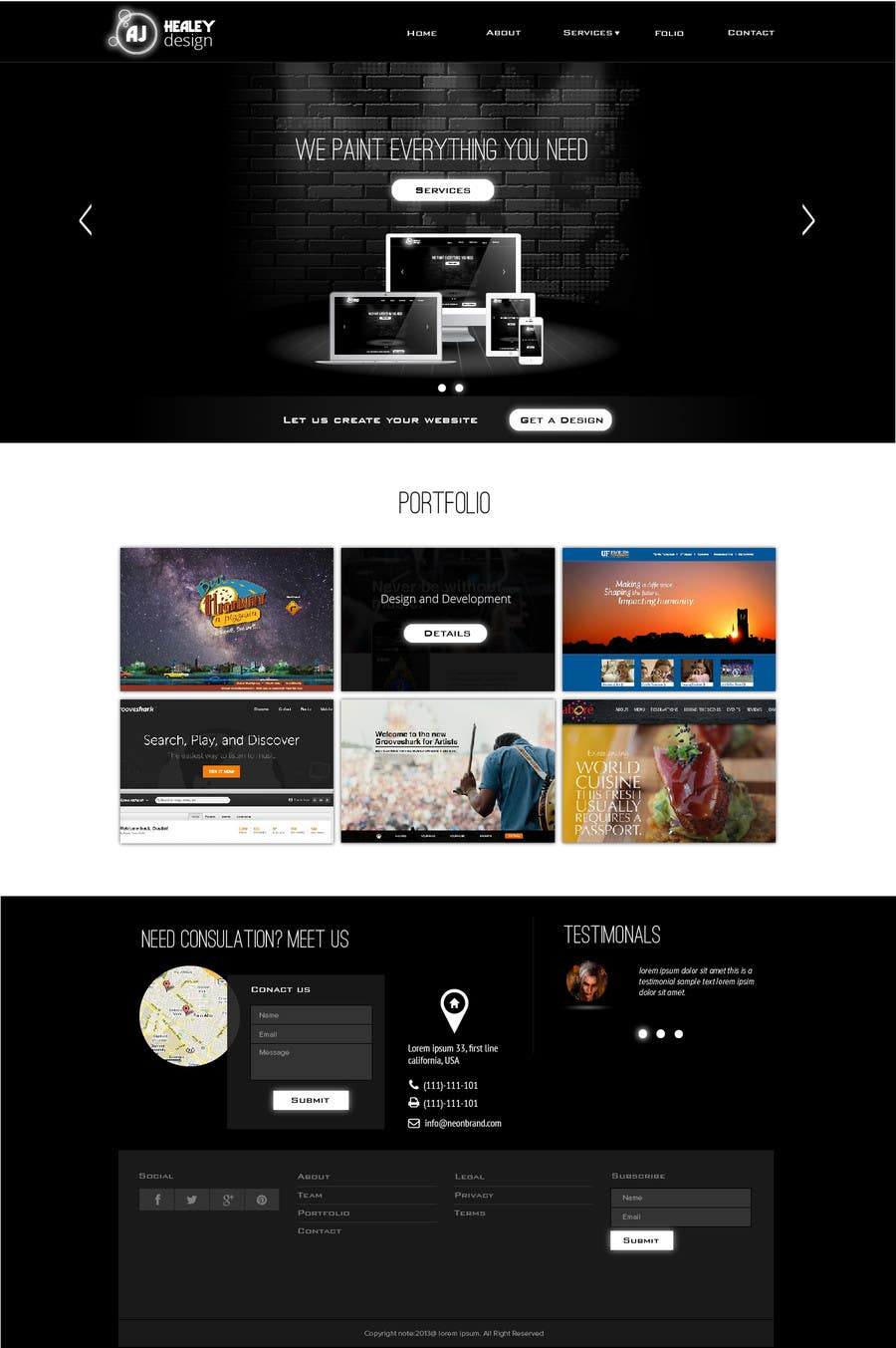 #31 for Design Logo, Branding and Website by jeransl