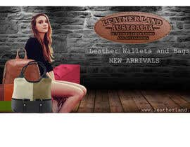 #19 for Design a Banner for Leather Wallets and Bags Website by touhidr204