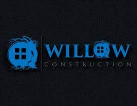 #40 for Willow Construction Logo by snakhter2