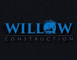 #59 for Willow Construction Logo by snakhter2