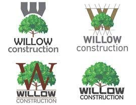 #34 for Willow Construction Logo by mircislav