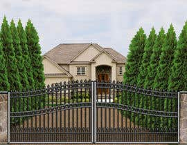 #2 for Driveway Gate Design Photoshop by AndradaDiana