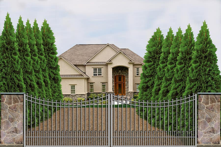 Contest Entry #                                        4                                      for                                         Driveway Gate Design Photoshop
