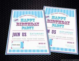 #34 for Design some Stationery for Baby 1st Birthday Invitation af pankaj86