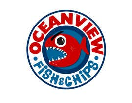 #81 for Logo Design for OceanView Fish & Chips by Mishicus