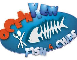 #206 cho Logo Design for OceanView Fish & Chips bởi shakz07