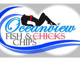 #170 untuk Logo Design for OceanView Fish & Chips oleh bhetzkie
