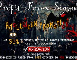 #34 untuk Design a Banner for Haloween Promotion oleh webcloud9