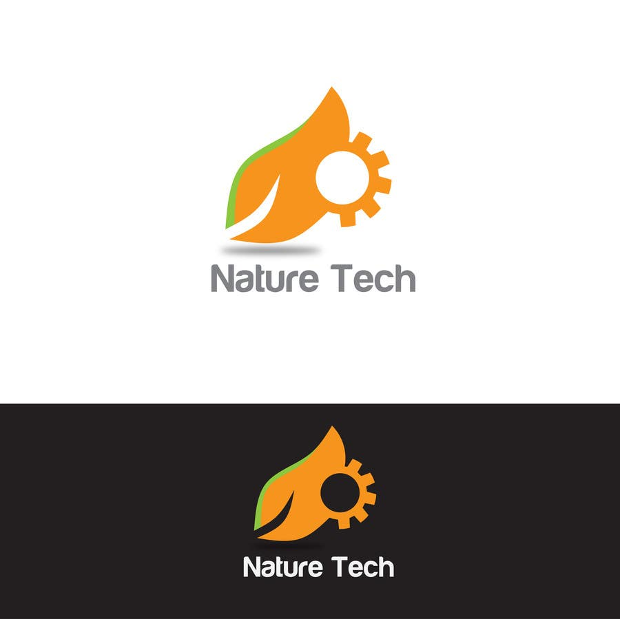 Contest Entry #                                        3                                      for                                         Design a Nature/Technology Logo Symbolizing a balance between the two