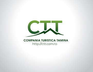 #125 for Design a logo for CTT - Compania Turistica Tamina af paxslg